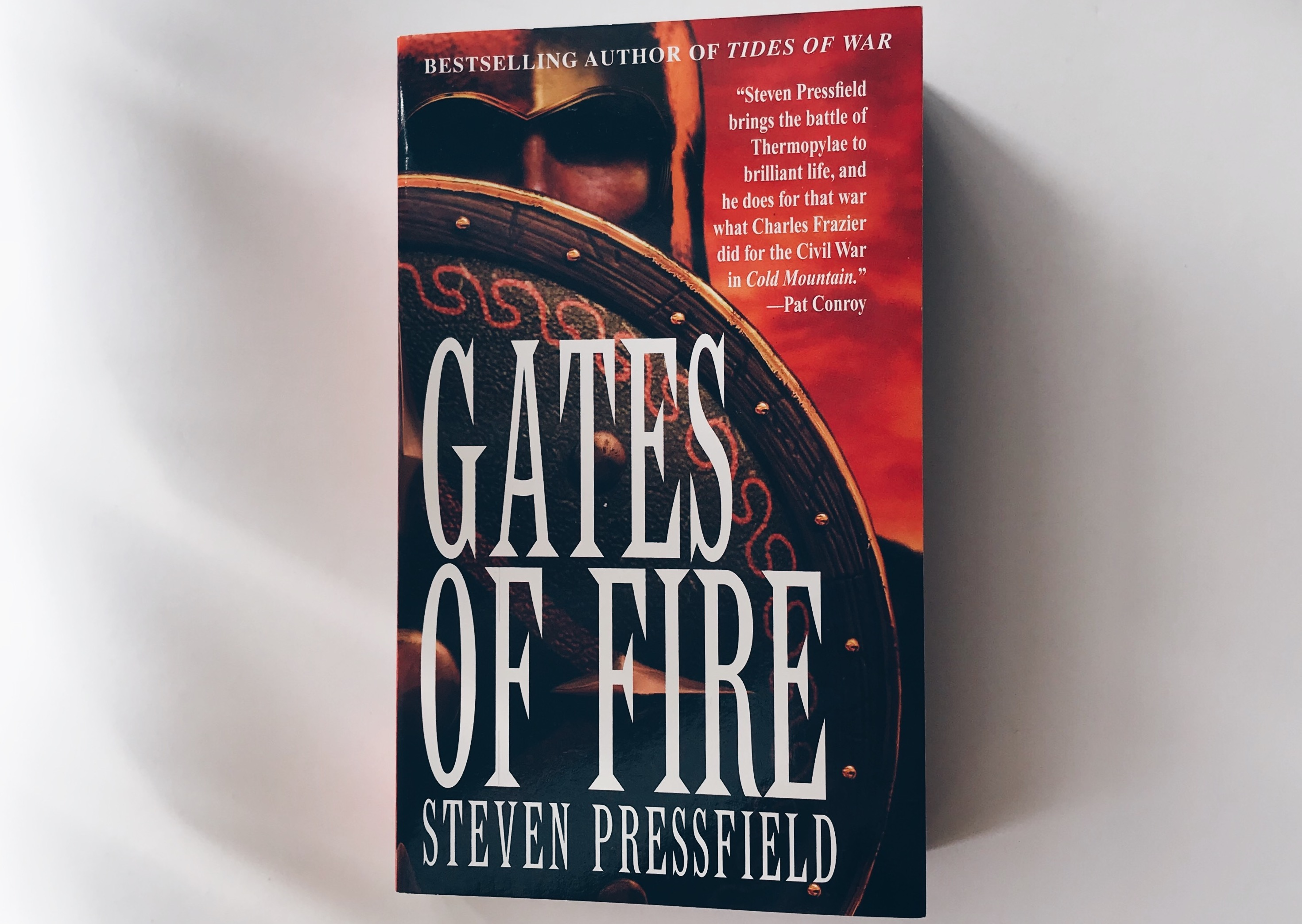 gates fire steven pressfield Steven pressfield's the gates of fire is set in the fifth century bc in greece the story revolves around the famous battle of thermopylae where three hundred spartans held off hundreds of thousands of persians, saving greece pressfield creates a fictional story around the battle where.